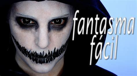 imagenes de maquillaje para halloween hombres tutorial maquillaje halloween fantasma f 225 cil makeup fx 61