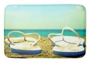 Flip Flop Bath Rug Flip Flop Home Decor Quilts Pillows Rugs More Completely Coastal