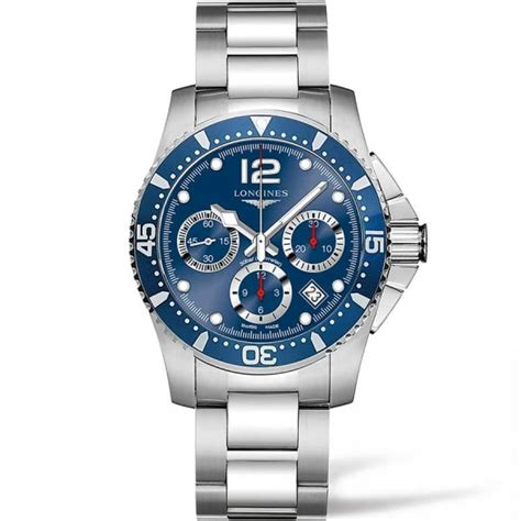longines s hydroconquest 41mm automatic chronograph