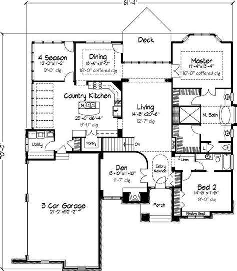 featured house plan pbh 6226 professional builder house plans