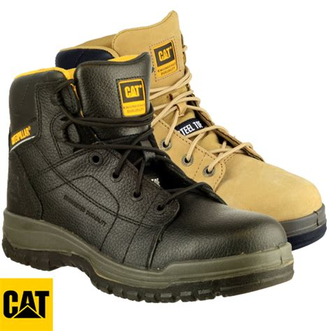 Caterpillar Solid Boots Safety cat caterpillar dimen safety boots sb dimen6