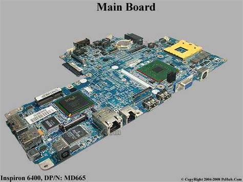 Motherboard Dell Inspiron 6400 dell inspiron 6400 board motherboard md665 0md665 md666 0md666 da0fm1mb6e7 31fm1mb