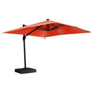 Large Patio Umbrellas Cantilever by Signature Design By Ashley Oakengrove Coral Large