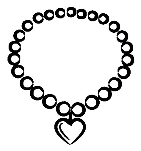 Necklace Coloring Page necklace coloring pages coloring pages