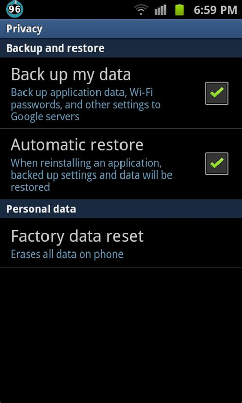 android factory reset how to factory reset your android device wiping the slate clean how to gadget review
