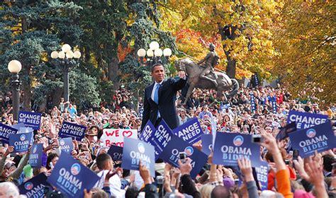 by the people the election of barack obama 2009 imdb barack obama 100 000 plus caign stop denver 11 26 08
