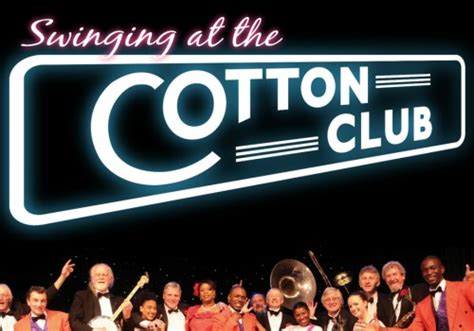 swinging at the cotton club the next six weeks theatre royal