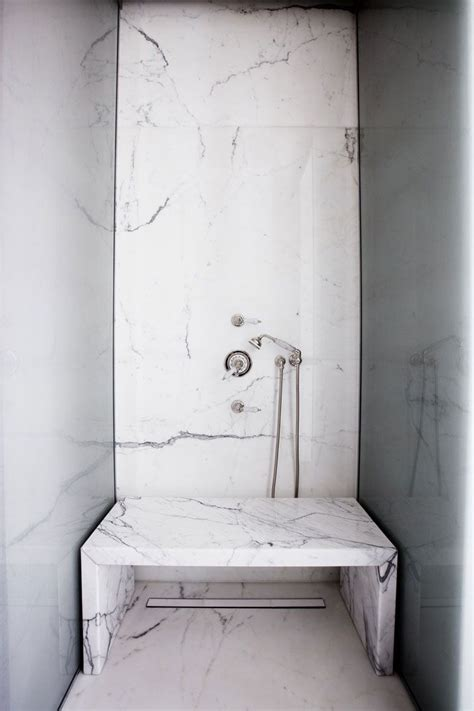marble bench marble shower bench bathrooms pinterest