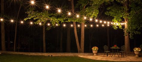 hanging patio lights ideas how to plan and hang patio lights