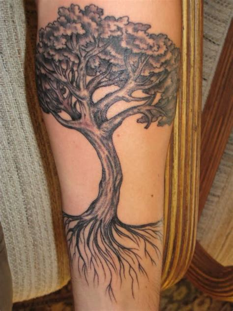 tree tattoo forearm 32 tree of tattoos on sleeve