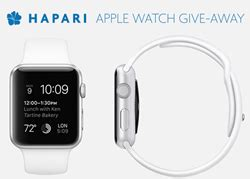 Apple Computer Giveaway - apple watch announced as the grand prize of hapari s newest contest