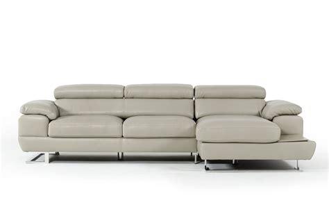 sectional warehouse estro salotti invictus grey full leather sectional usa