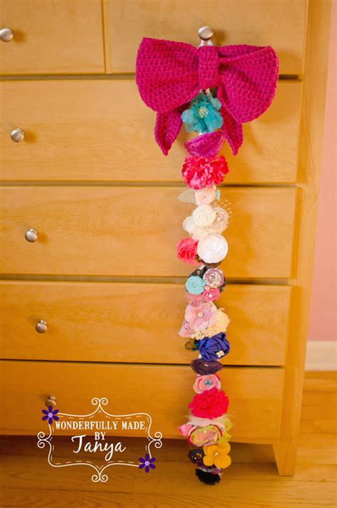 pattern for bow holder crochet pattern i love big bows bow holder