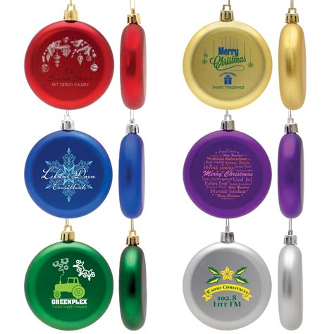 ornaments with logo ornaments personalized color ornaments