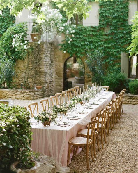 Wedding Garden by 42 Stunning Banquet Tables For Your Reception Martha