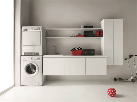 wall mounted laundry idrobox wall mounted laundry room cabinet by birex
