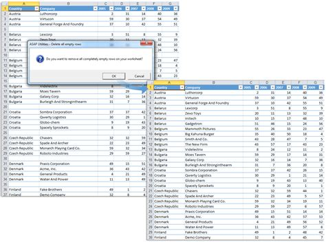 asap utilities for excel 187 tip quickly remove