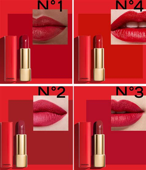4 Best Chanel Products by Chanel Numeros Rouges Makeup Collection For 2017