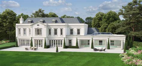 home hillside plot above road level kerala design house plans 6 bed luxury bespoke property weybridge surrey hillside