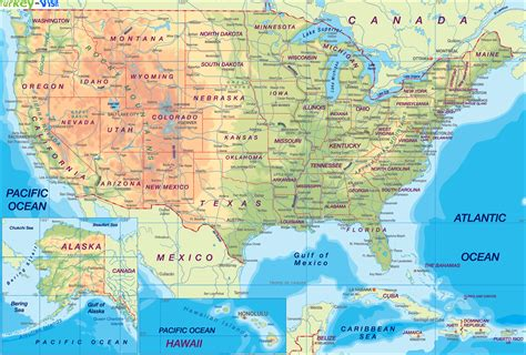 united states map review usa map in german