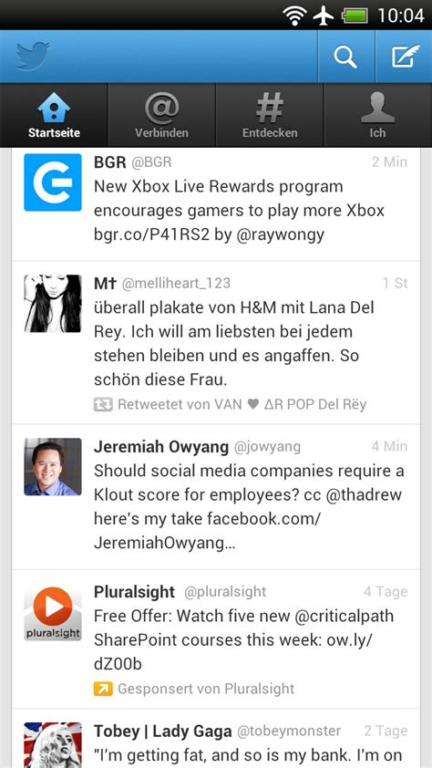 twitter application twitter the official app for android android app