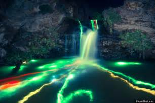 Detroit Wedding Photographers Glow Stick Photography Stunning Neon Luminance Waterfall Pictures Huffpost Uk