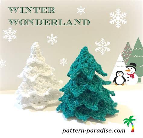 crochet christmas tree applique pattern free free crochet pattern trees pattern paradise