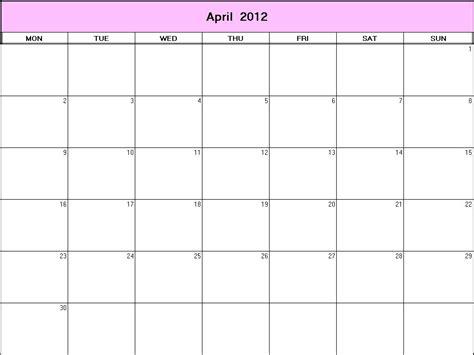 April 2012 Calendar Pin Calendar April 2012 Wallpapers Free On