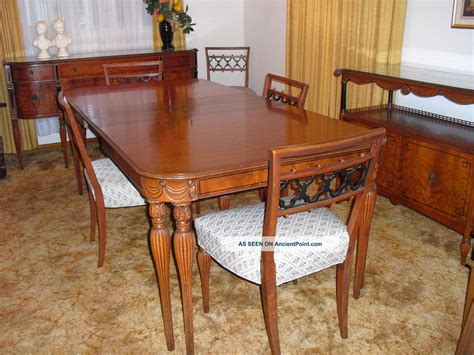 1950 dining room furniture 1950 dining room furniture set of 8 1950s dining room
