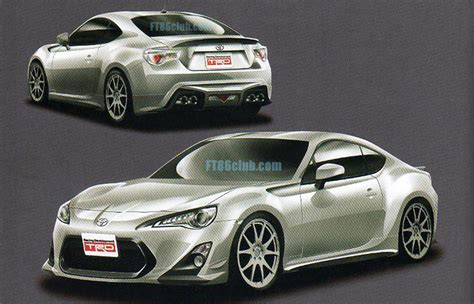 Toyota Trd Accessories Trd Performance Accessories For Toyota Ft 86 Leaked