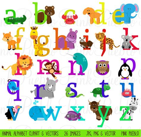 printable jungle alphabet animal alphabet font with safari jungle zoo animals by
