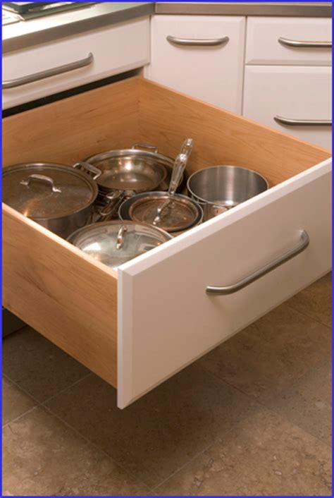 drawers for pots pans richard landon design