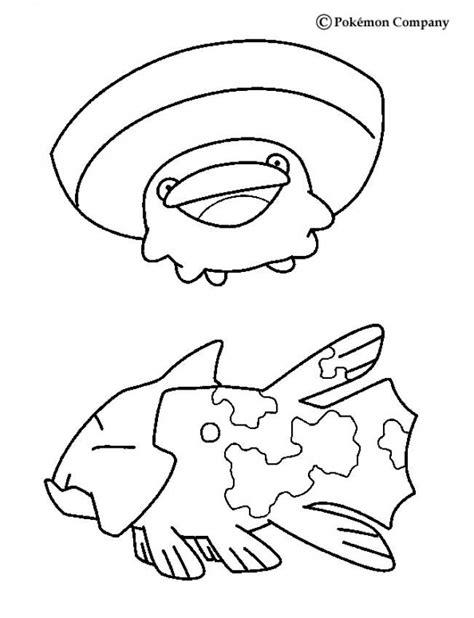 pokemon coloring pages hellokids lotad pokemon coloring page more water pokemon coloring