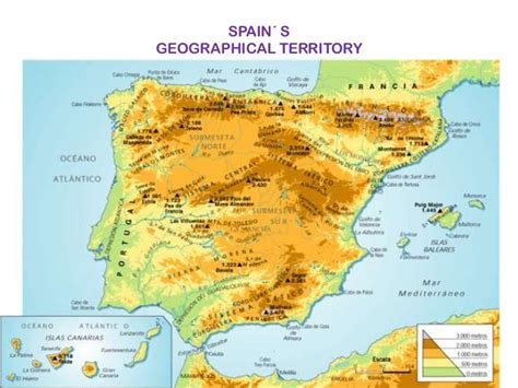 5 themes of geography spain the physical geography of spain victoria