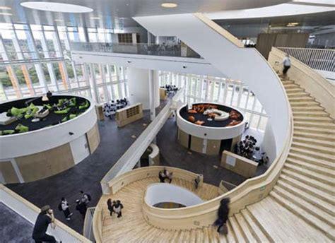 copenhagen school of interior design 15 cool high school college building designs