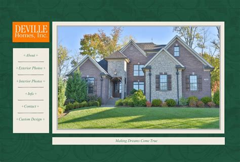 custom home design online inc deville homes inc louisville custom home builder
