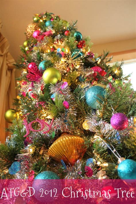 how to decorate a christmas tree with colorful lights black friday colorful tree all things g d