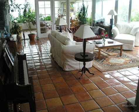 Living Room With Mexican Tile Tile Flooring Ideas For Living Room 4 Photos Floor