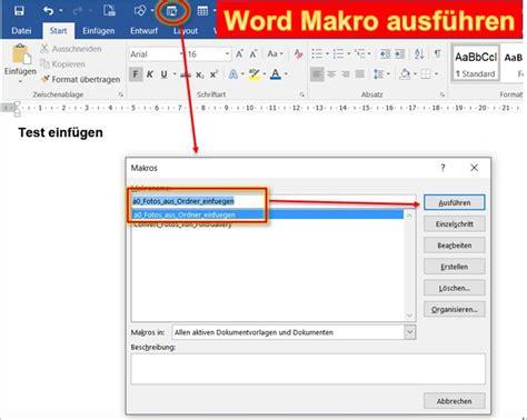 Word Vorlage Importieren Word Vba Code Fotos In Word Einf 252 Programmierer Net Framework