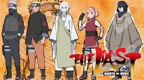 film bagus naruto the last movie the last naruto the movie alle charaktere in colour