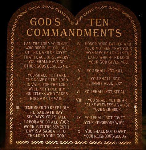 10 commandments catholic church