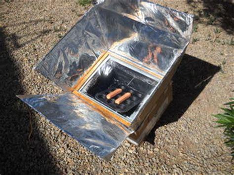 solar oven  cardboard box   steps  green optimistic