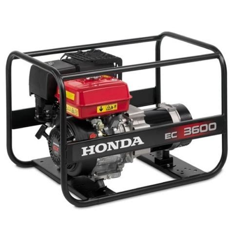 honda ec3600 generator garden machinery direct co uk