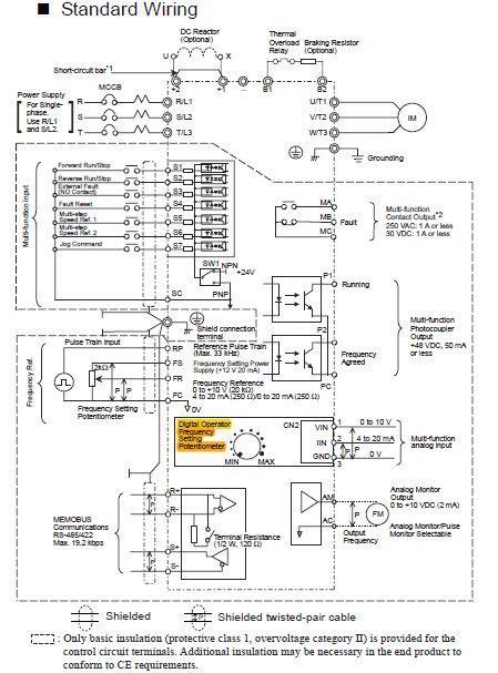 omron vfd wiring diagram wiring diagrams wiring diagram