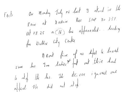 Complaint Letter Against Driver Exle Of Complaint Letter Against School Driver School Driver Had Plaints That