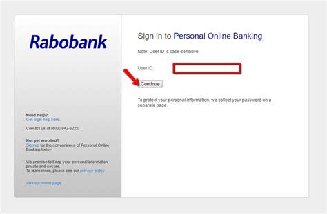 bank rabobank rabobank login