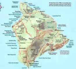 maps of the big island