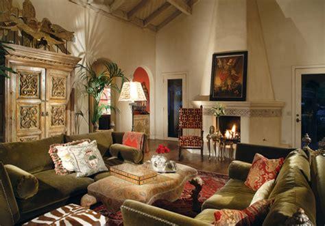 Landscape Lighting Phoenix - spanish colonial bathroom traditional living room phoenix by wendy black rodgers interiors