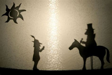 How To Make Paper Shadow Puppets - 11s