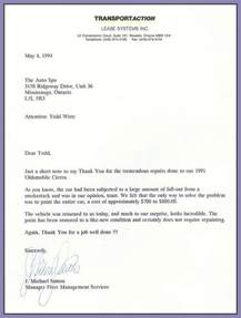 Job Well Done Letter Template Testimonials The Auto Spa